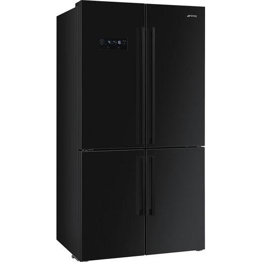 Smeg FQ60NDF American Fridge Freezer - Black - F Rated