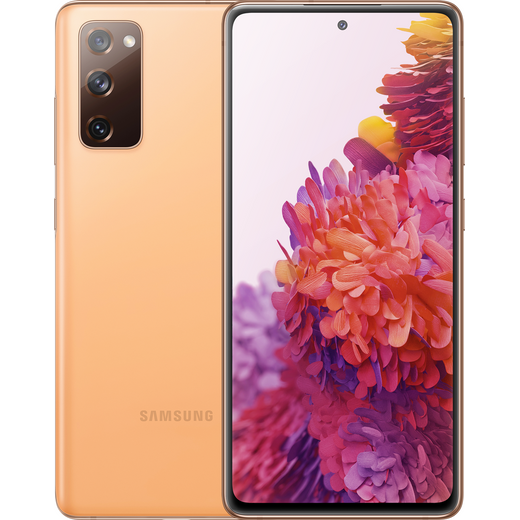 Samsung Galaxy S20 FE 128GB Smartphone in Cloud Orange