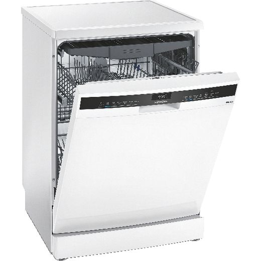 Siemens IQ-300 SN23HW60CG Wifi Connected Standard Dishwasher - White - D Rated