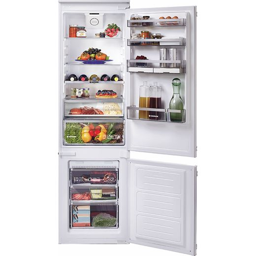 Hoover H-FRIDGE 500 BHBF182NUK Built In Fridge Freezer - White