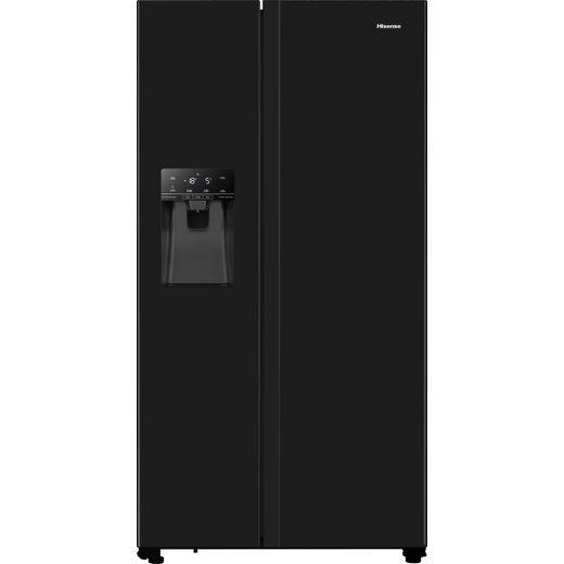 Hisense RS694N4TBF American Fridge Freezer - Black