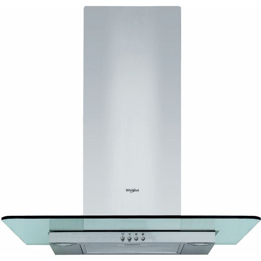 Whirlpool WHFG64FLMX Chimney Cooker Hood - Stainless Steel - B Rated