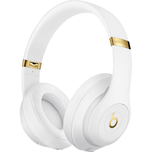 Beats Studio3 Over-Ear Wireless Bluetooth Headphones - White