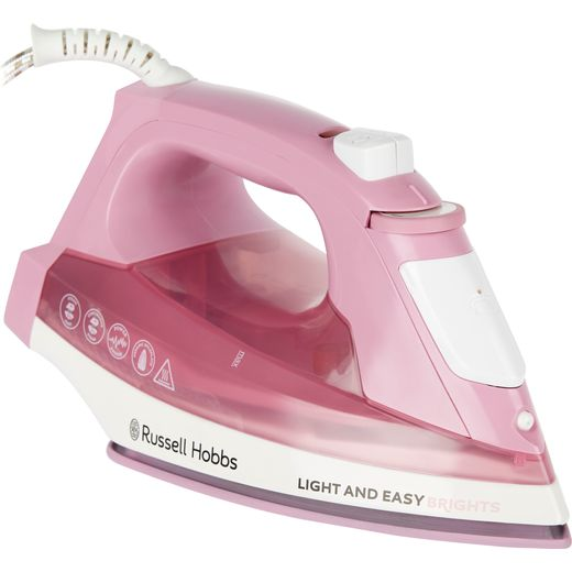 Russell Hobbs Light & Easy Brights 25760 2400 Watt Iron -Pink