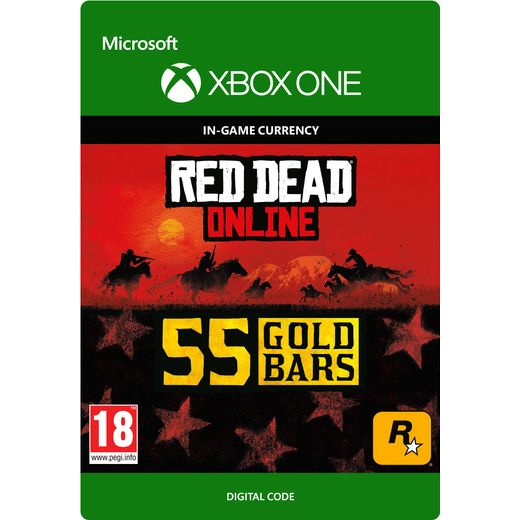 Red Dead Redemption 2 55 Gold Bars For Xbox One Digital Download