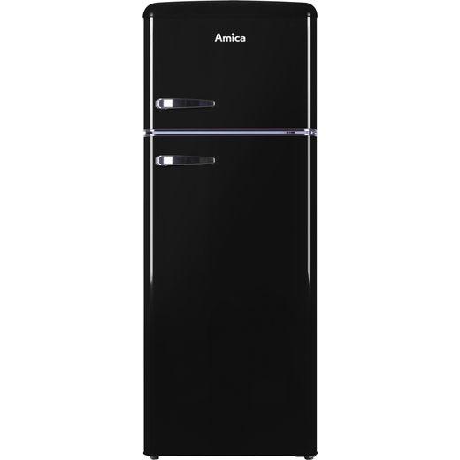 Amica FDR2213B Fridge Freezer - Black
