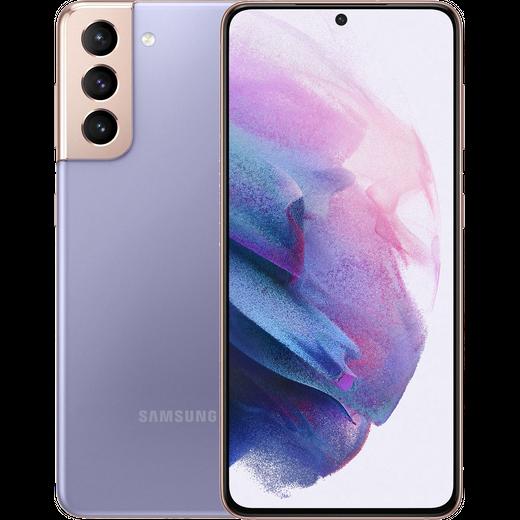 Samsung Galaxy S21 5G 128 GB Smartphone in Phantom Violet