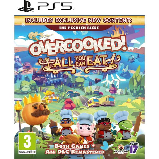 Overcooked! All You Can Eat Anthology for PlayStation 5