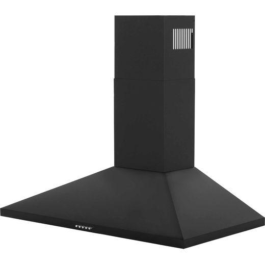 Belling Unbranded CHIM90BK 90 cm Chimney Cooker Hood - Black - E Rated