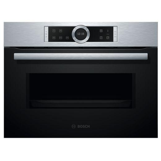 Bosch Serie 8 CFA634GS1B Built In Microwave - Brushed Steel