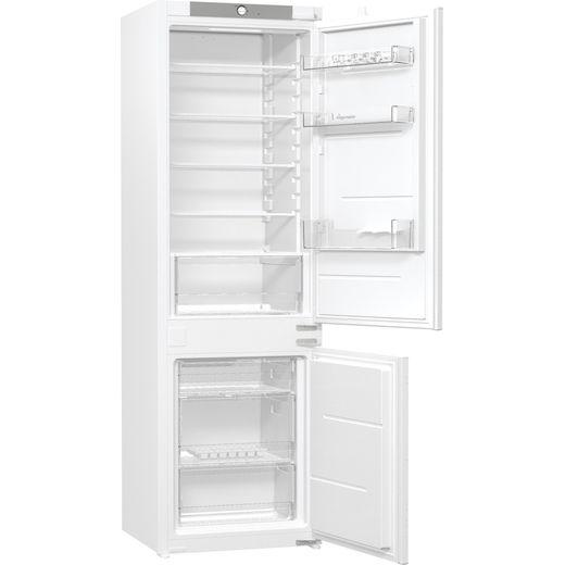 Fridgemaster MBC54260F Integrated 70/30 Fridge Freezer with Sliding Door Fixing Kit - White - F Rated