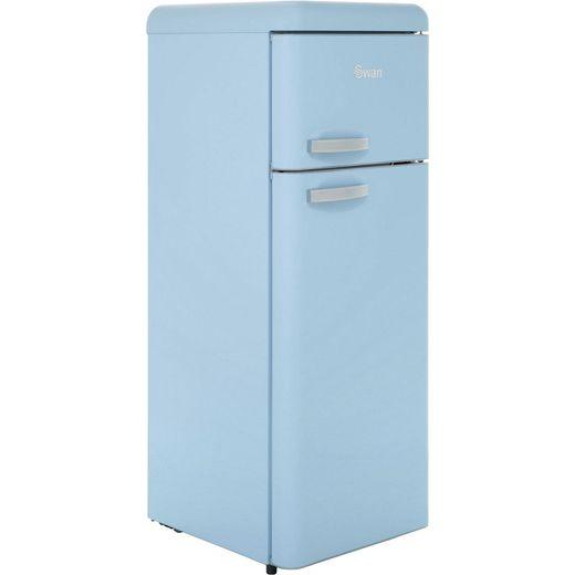 Swan Retro SR11010BLN 80/20 Fridge Freezer - Blue - F Rated