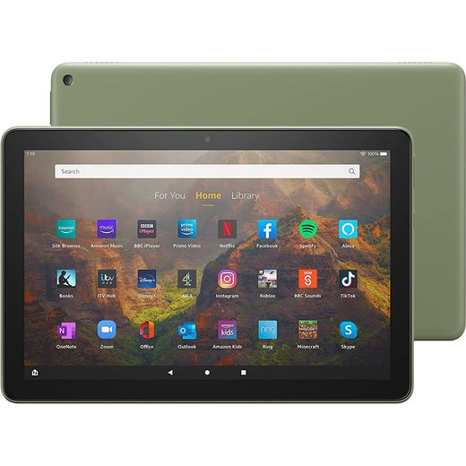 """Amazon Fire HD 10 10.1"""" 32GB Tablet - Olive Green"""