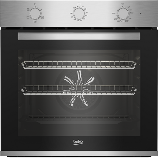Beko AeroPerfect™ BBIF22100X Built In Electric Single Oven - Stainless Steel