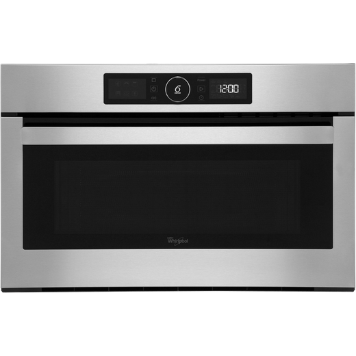 Whirlpool AMW730IX Built In Microwave With Grill - Stainless Steel