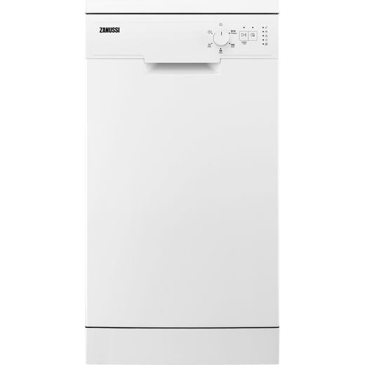 Zanussi ZSFN131W1 Slimline Dishwasher - White - F Rated