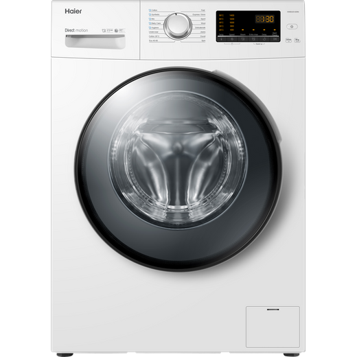 Haier HW100-B1439N 10Kg Washing Machine with 1400 rpm - White - A Rated