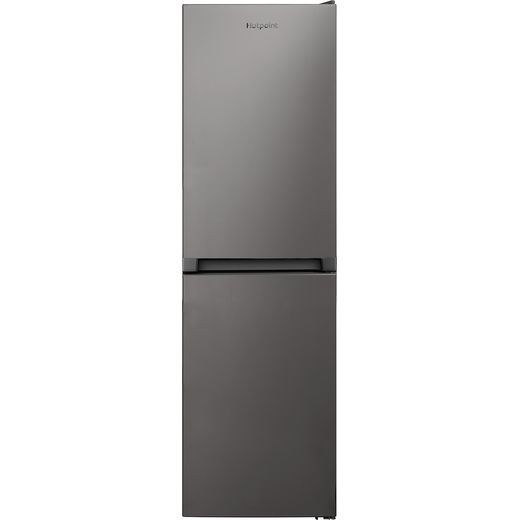 Hotpoint HBNF55181SUK1 50/50 Frost Free Fridge Freezer - Silver - E Rated