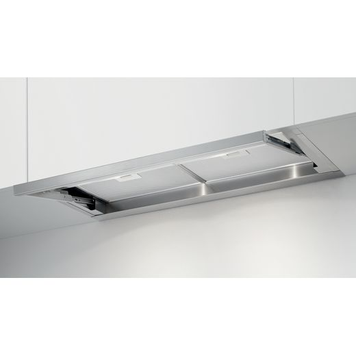 Elica LEVER-90 90 cm Canopy Cooker Hood - Stainless Steel - B Rated