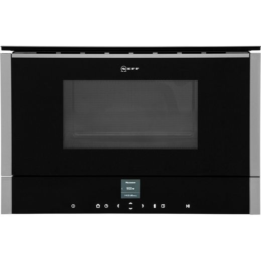NEFF N70 C17GR00N0B Built In Microwave With Grill - Stainless Steel