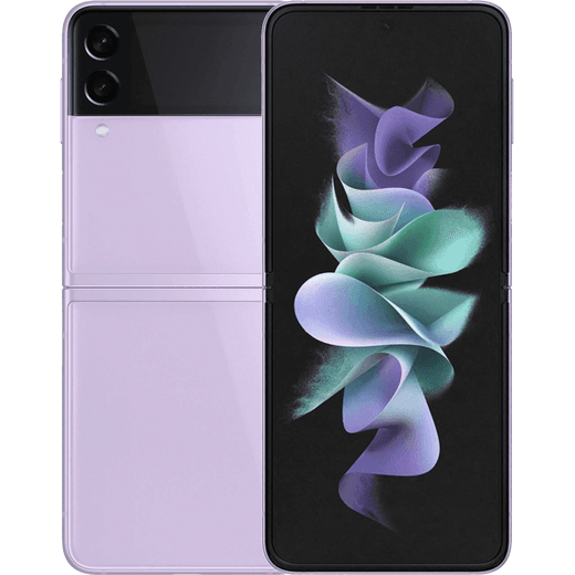 Samsung Galaxy Z Flip3 5G 256GB Flip Phone in Lavender