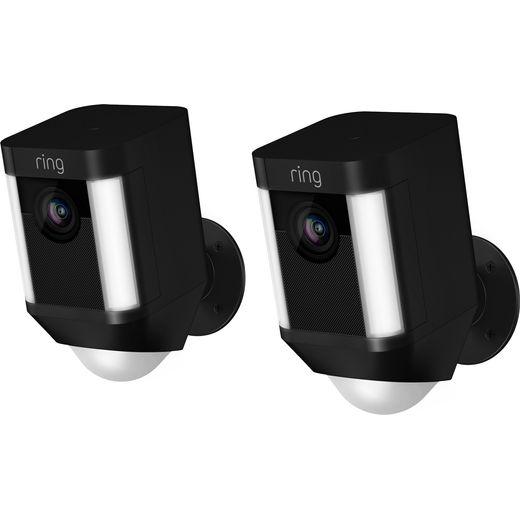 Ring Spotlight Cam Battery Full HD 1080p - Black