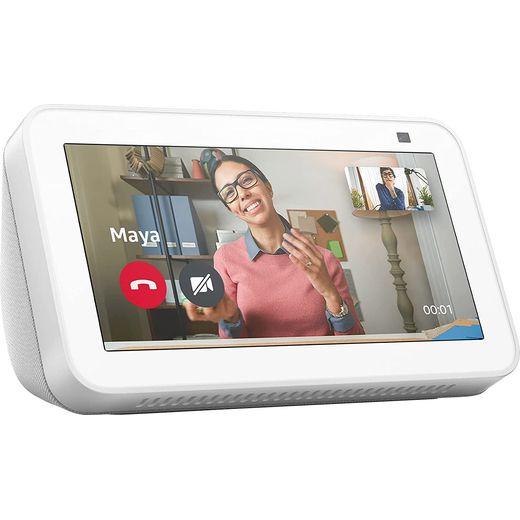 """Amazon Echo Show 5 with Alexa - 5.5"""" Screen - White"""