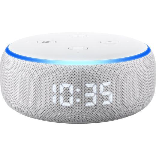 Amazon Echo (3rd Gen) Smart Speaker with Clock with Alexa - Sandstone