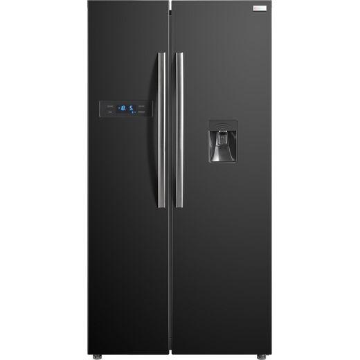 Russell Hobbs RH90FF176B-WD American Fridge Freezer - Black - F Rated