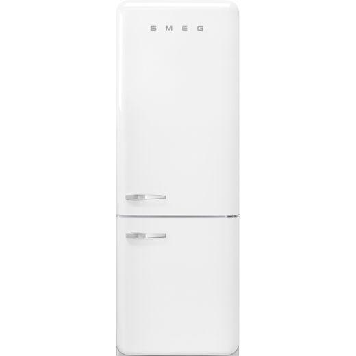 Smeg Right Hand Hinge FAB38RWH 70/30 Frost Free Fridge Freezer - White - G Rated