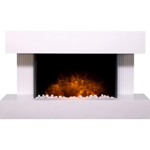 Adam Fires 21710 Pebble - White