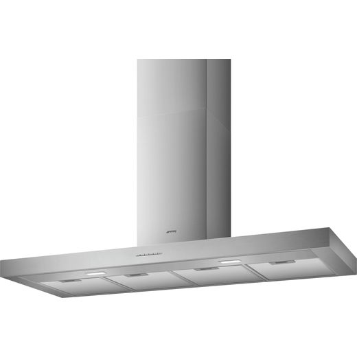 Smeg KBT1200XE Chimney Cooker Hood - Stainless Steel - A Rated