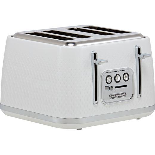 Morphy Richards Verve 243012 4 Slice Toaster - White