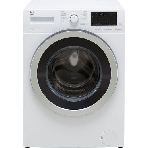 Beko WER860541W 8Kg Washing Machine with 1600 rpm - White - C Rated
