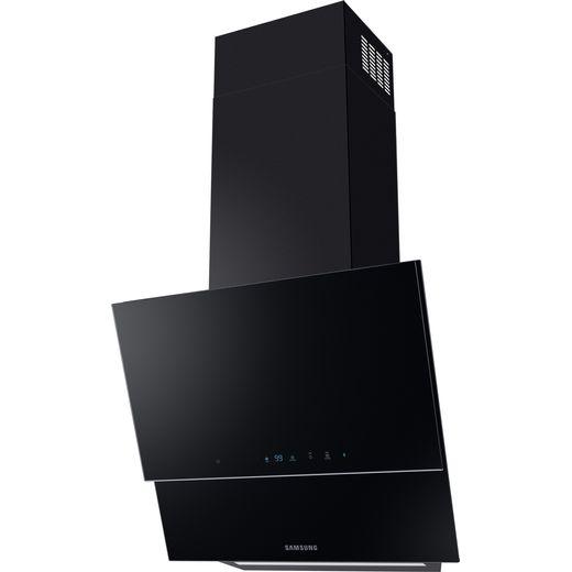 Samsung NK24N9804VB 60 cm Angled Chimney Cooker Hood - Black - A+ Rated