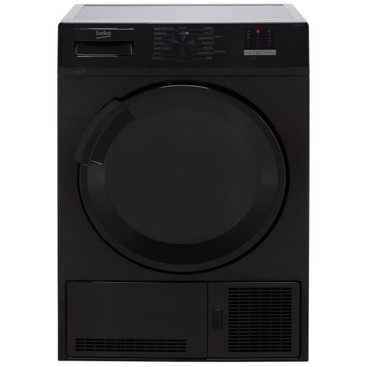 Beko DTLCE80051B 8Kg Condenser Tumble Dryer - Black - B Rated