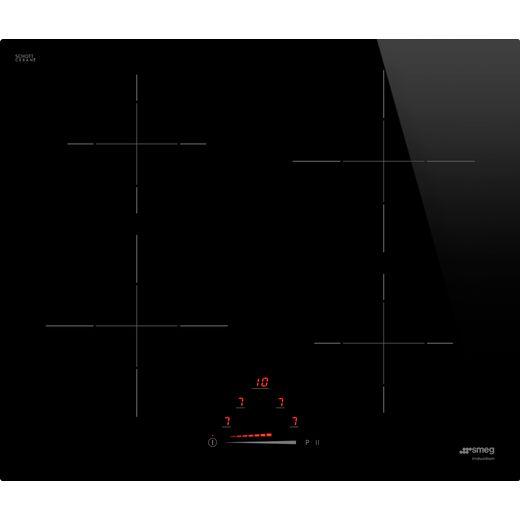 Smeg SI4642D 60cm Induction Hob - Black