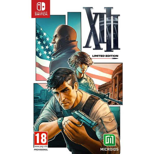 Microids XIII Remastered - Limited Edition for Nintendo Switch