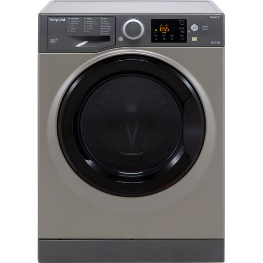 Hotpoint RDG8643GKUKN 8Kg / 6Kg Washer Dryer with 1400 rpm - Graphite - D Rated