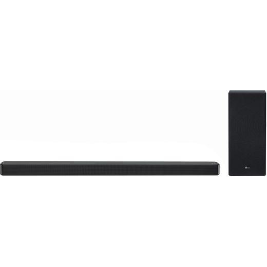 LG SL6Y Bluetooth 3.1 Soundbar with Wireless Subwoofer - Black