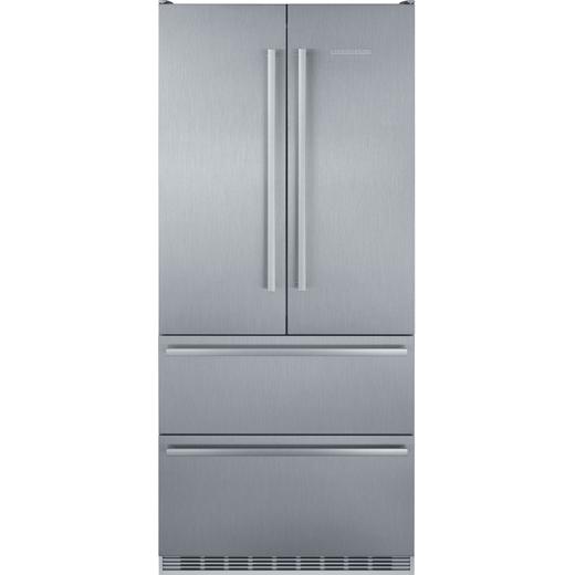 Liebherr CBNes6256 American Fridge Freezer - Stainless Steel - F Rated