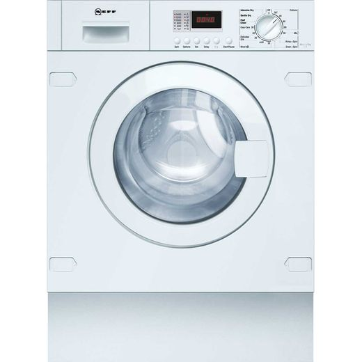 NEFF V6320X1GB Integrated 7Kg / 4Kg Washer Dryer with 1350 rpm - White - B Rated