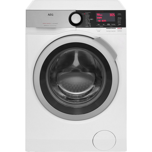 AEG Softwater Technology L9FEC966R 9Kg Washing Machine with 1600 rpm - White - A Rated