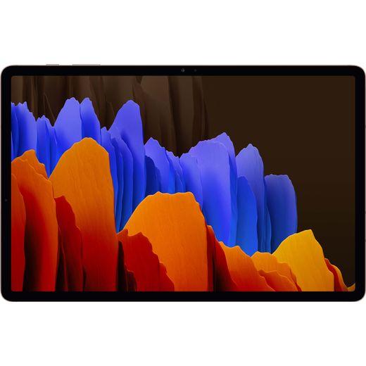 "Samsung Tab S7+ 12.4"" 128GB Tablet - Mystic Bronze"