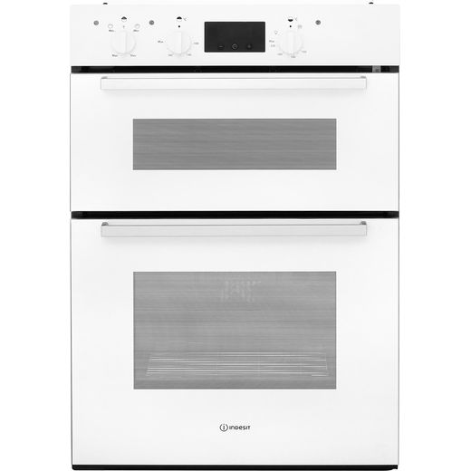 Indesit Aria IDD6340WH Built In Electric Double Oven - White