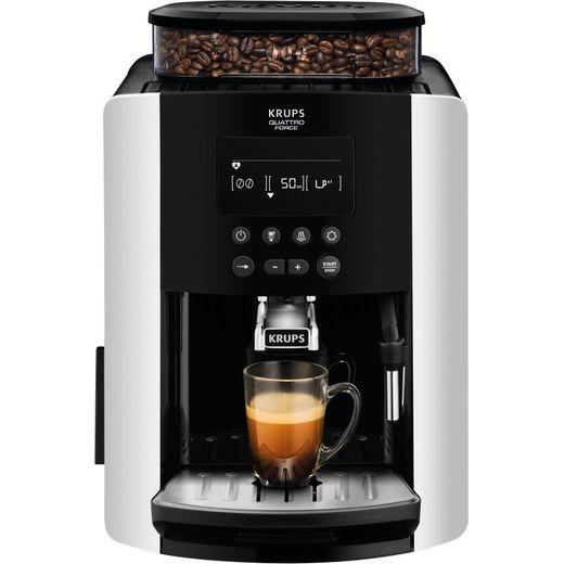 Krups Arabica Digital EA817840 Bean to Cup Coffee Machine - Silver