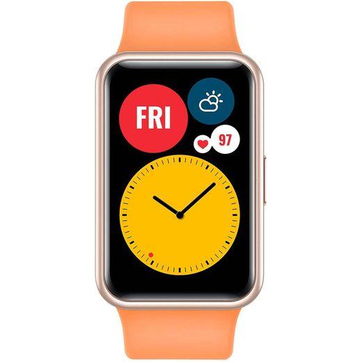 HUAWEI Watch Fit Smart Watch - Cantaloupe Orange