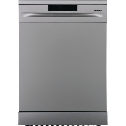 Hisense HS620D10XUK Standard Dishwasher - Stainless Steel - D Rated