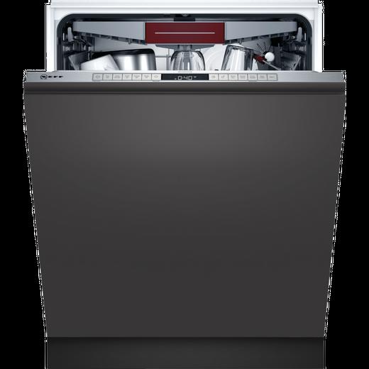 NEFF N50 S155HCX27G Built In Standard Dishwasher - Stainless Steel