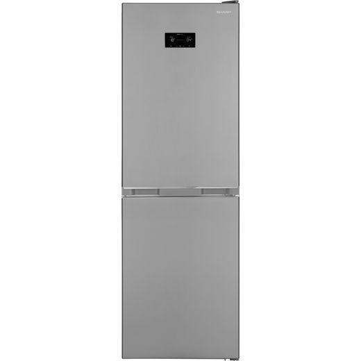 Sharp SJ-BA33DHXIE-EN Fridge Freezer - Stainless Steel
